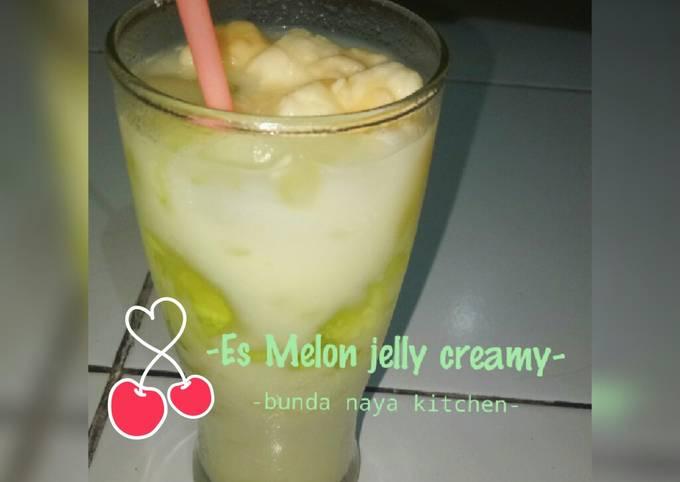 Es Melon jelly super Creamy 🍈