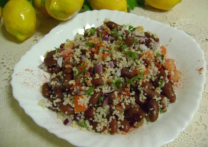 Rajma & Couscous Salad