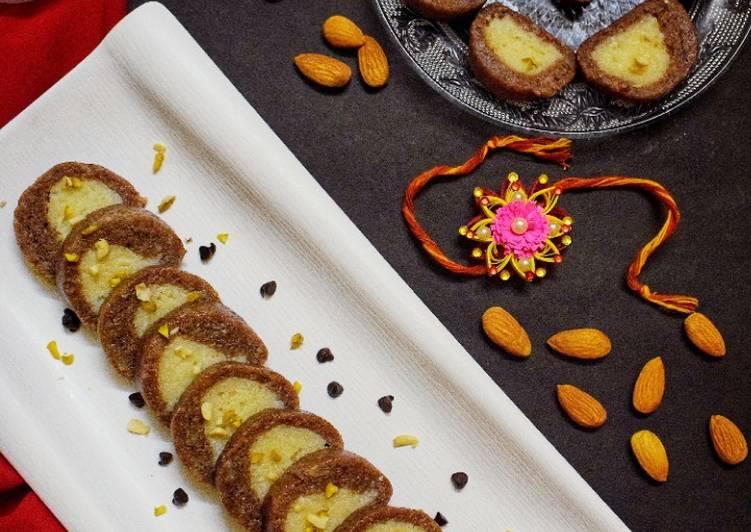 25 Minute Easiest Way to Prepare Homemade Chocolate roll sandesh