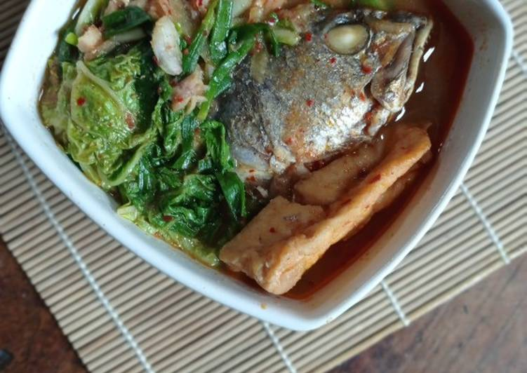 Sup Kepala Ikan Korean Taste