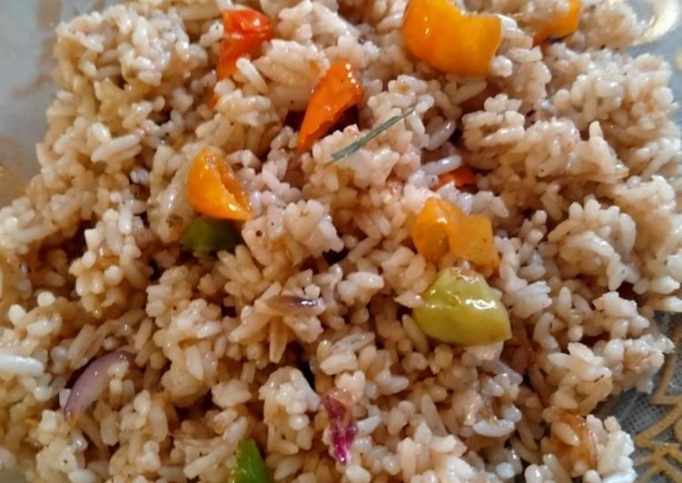 Nasi goreng Lada hitam Chinese