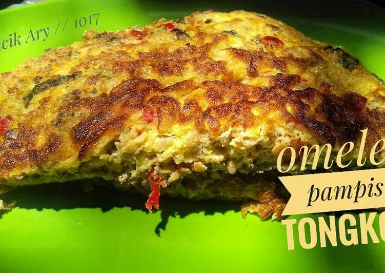 Omelet pampis tongkol