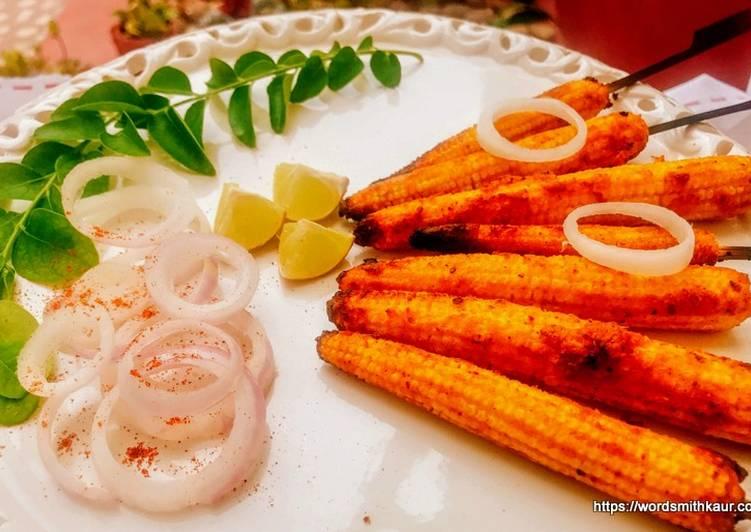 Crispy Baby Corn Satay Recipe