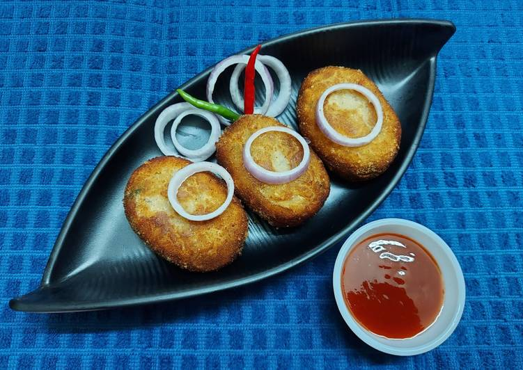 30 Minute Easiest Way to Make Blends Suran or Yam Cutlets