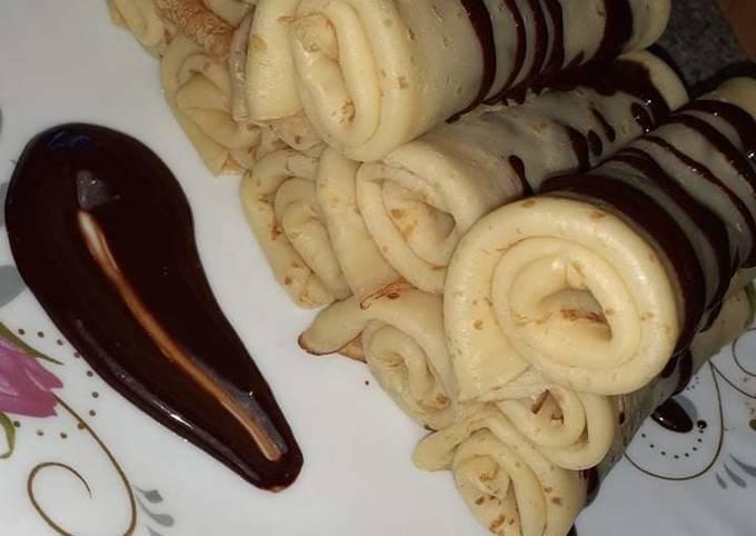 Crêpes aux chocolats