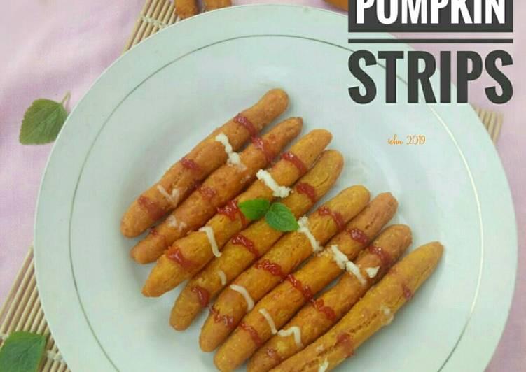 Pumpkin strips (stik labu)