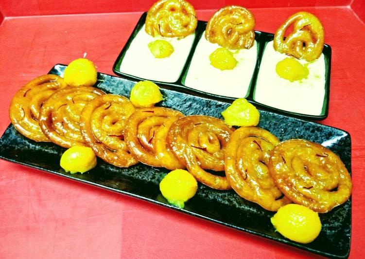 10 Minute Dinner Ideas Speedy Mango Jalebis With Rabdi