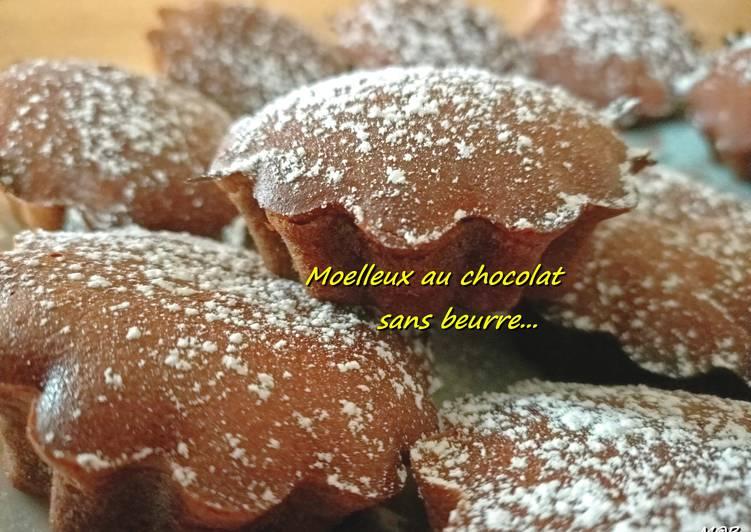 Moelleux au chocolat sans beurre #cookexpertmagimix