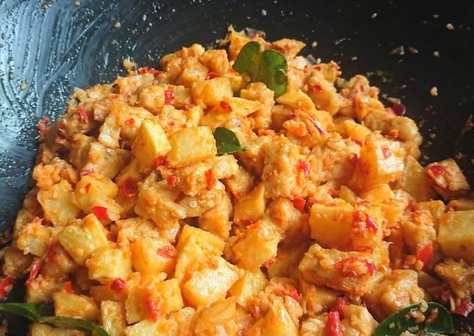 73. sambel goreng kentang tempe - resepenakbgt.com