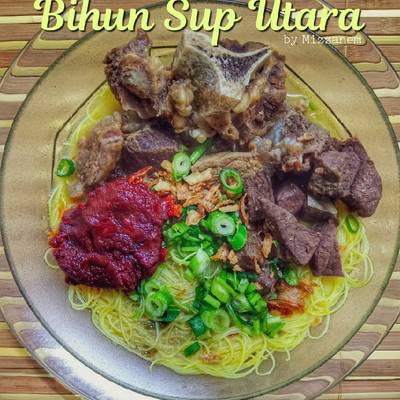 Resipi Bihun Sup Utara Oleh Mizzanem Cookpad