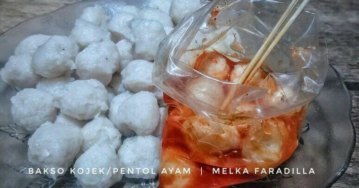 Resep Bakso Kojek Pentol Ayam Oleh Melka Faradilla Husna Sembiring Cookpad