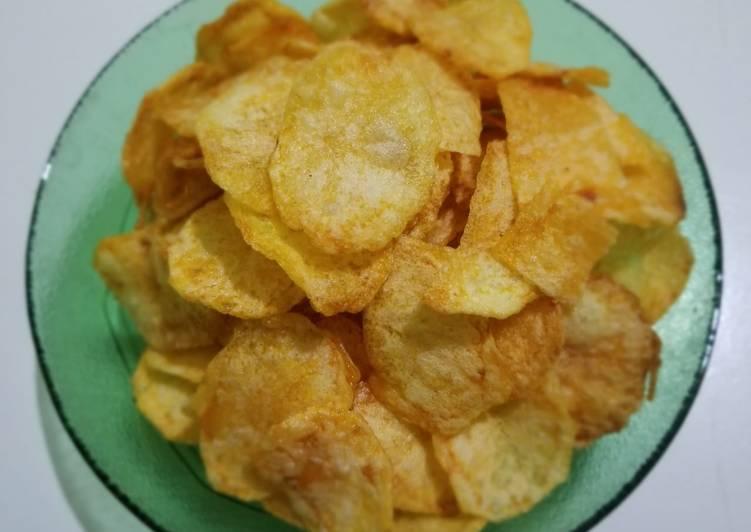 72. Keripik kentang simple