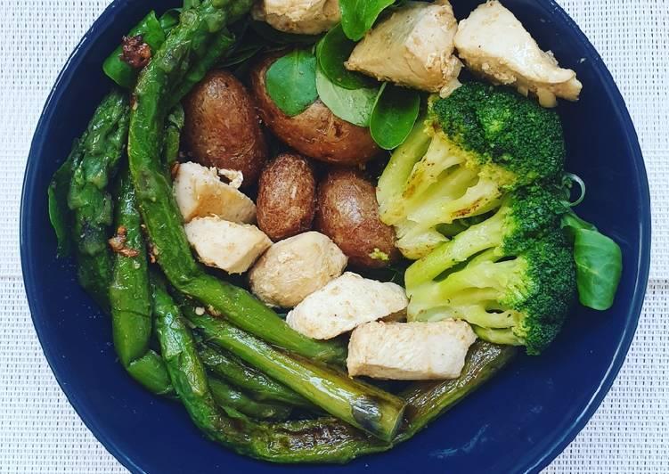 Comment Préparer Des Poulet aux légumes verts