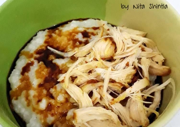 Bubur Ayam (masak pakai magic com)