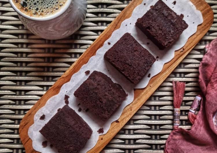 263. Brownies Cokelat Kukus (takaran sendok)