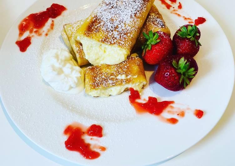 Pfannkuchen mit Ricotta-Füllung 😍👌🥞