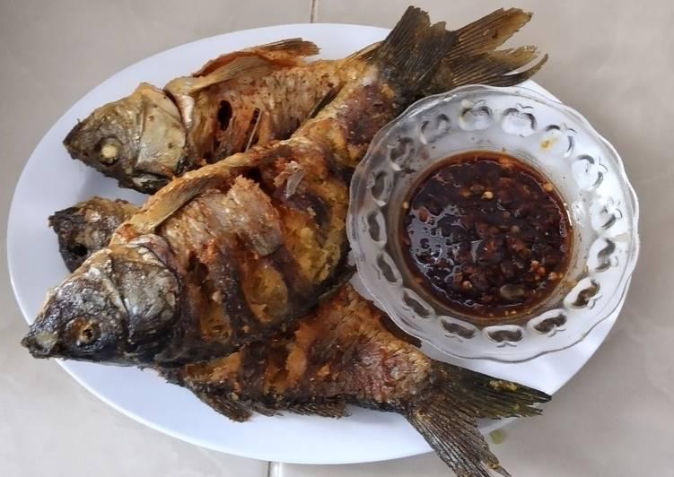 Ikan Mas Goreng Bumbu Ketumbar