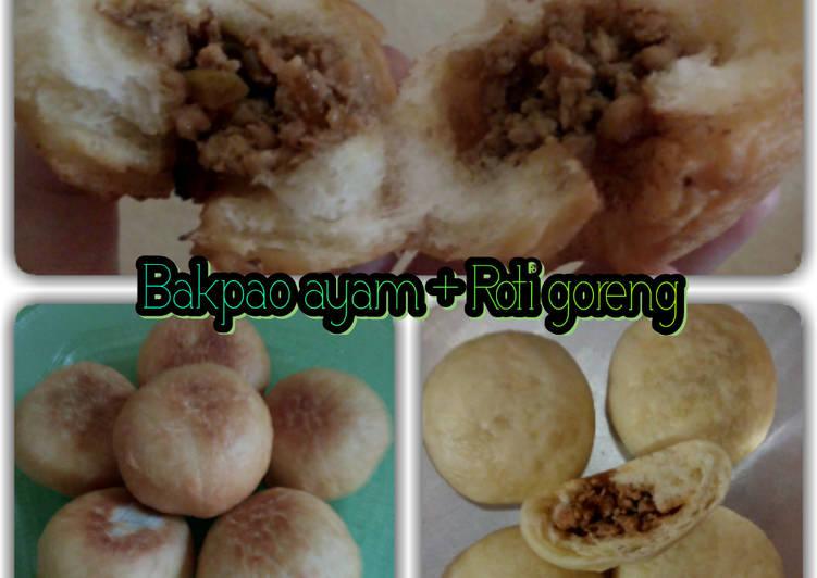 Resep Bakpao ayam + roti goreng Paling Enak