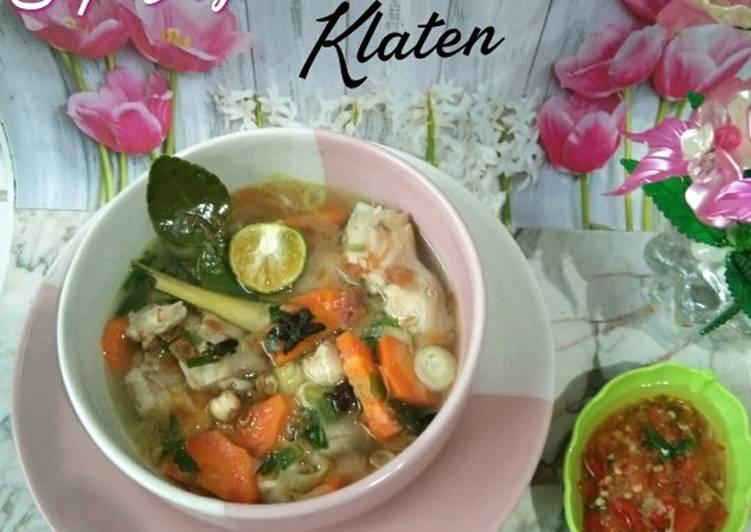 Cara Gampang Membuat Sup Ayam ala Pak Min Klaten Anti Gagal