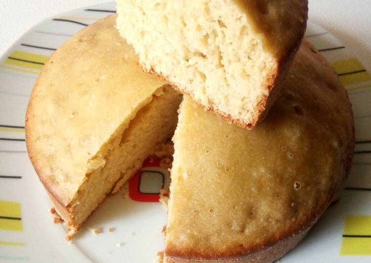 Simple sponge cake