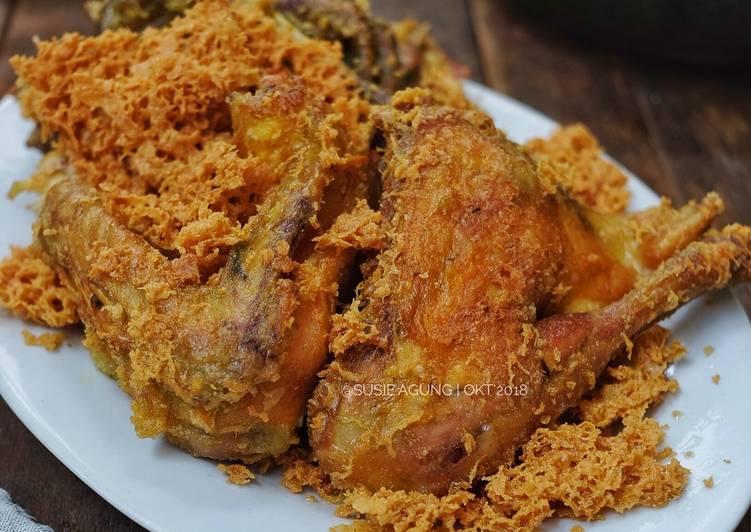 Resep Ayam Goreng Kremes Ala Mbok Berek Oleh Susi Agung