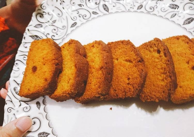 Recipe of Homemade Cake Rusk
