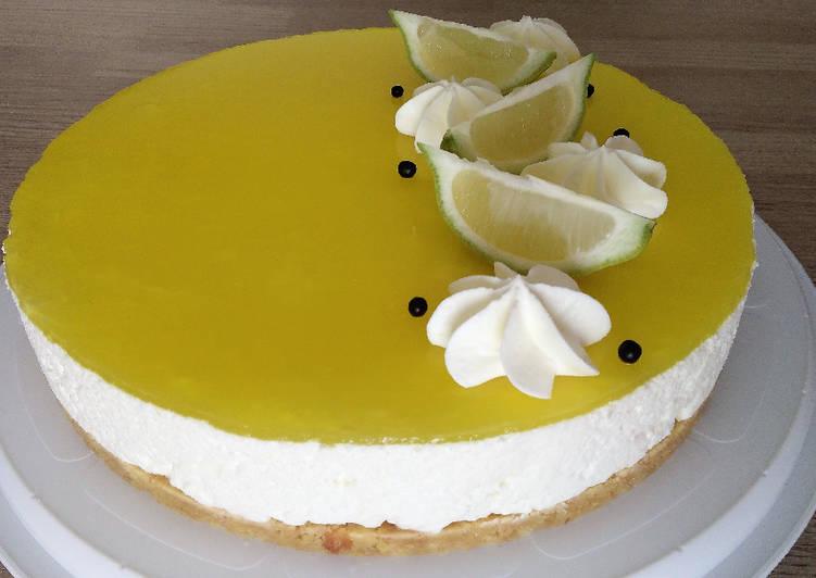 La Meilleur Recette De Cheesecake au citron
