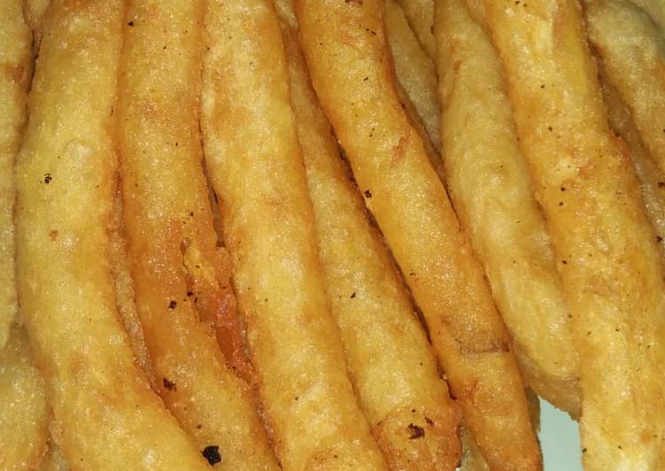 Potato Long Fries (kentang goreng panjang)