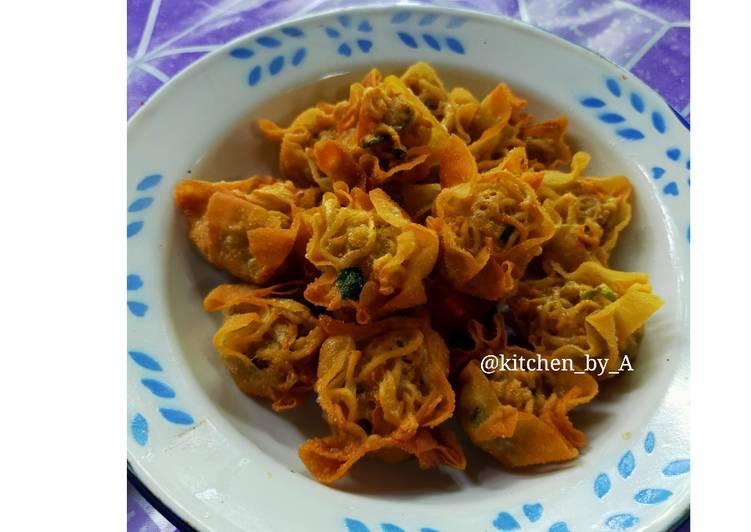 Resep Dimsum Indomie goreng Terbaik