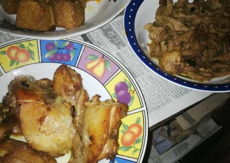 Resep Ayam Tempe Usus bumbu Bacem oleh Dinda Yuli Andriani ...