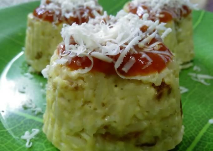 Tamida Soke (Tahu,mie,daging dg saos dan keju) Kukus