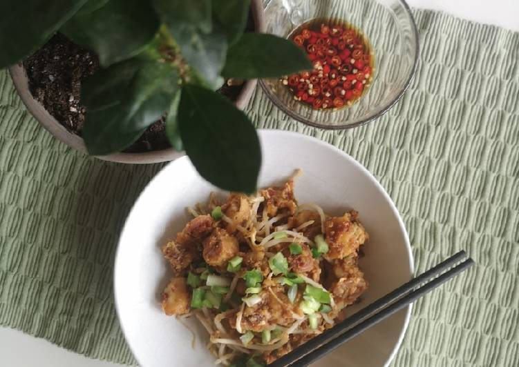 Simple Way to Make Super Quick Homemade Wok Radish cakes