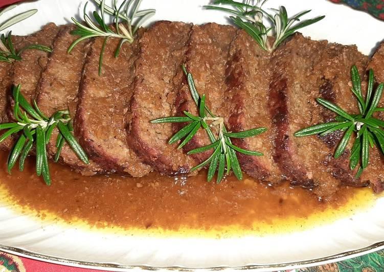 Polpettone semplice di carne