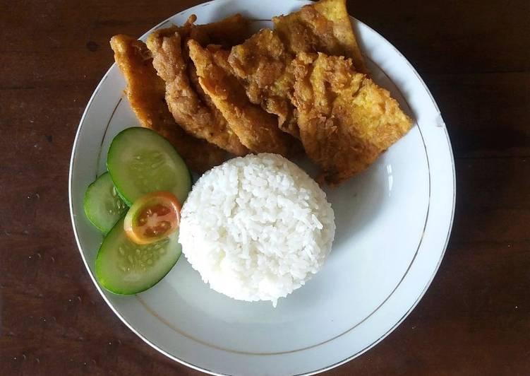 Kulit Ayam KFC Ala Ala 😁