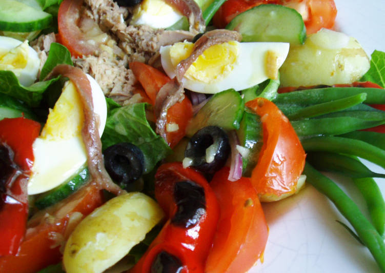 Steps to Make Super Quick Homemade Salade Niçoise