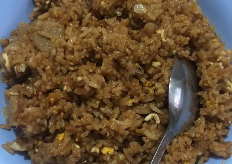 Nasi goreng sambal cakalang😍