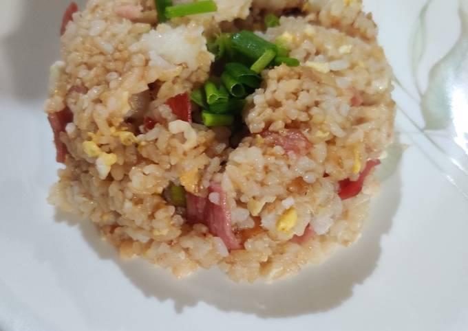Ham Fried Rice (ハムチャハン)