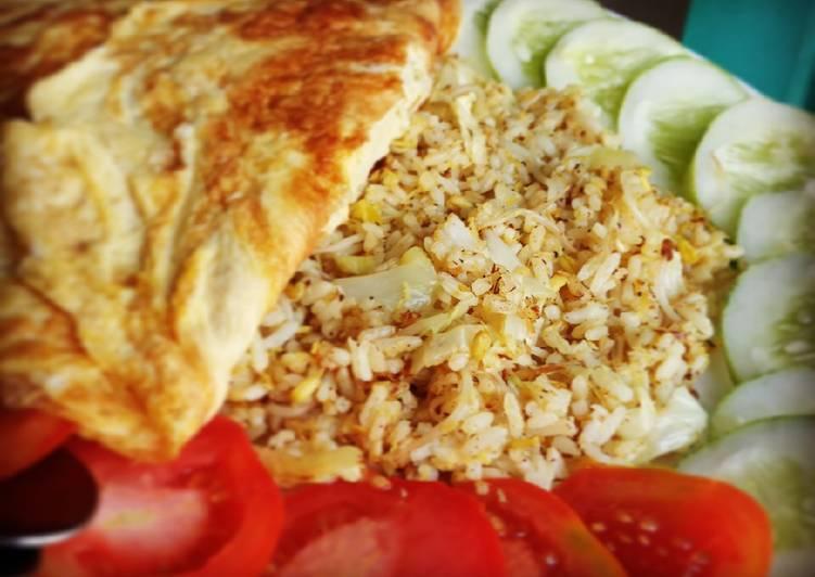 Resep Nasi goreng urap (Nasgor ujung bulan) Bikin Ngiler
