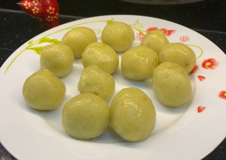 Resep Klepon ubi jepang gak pakai kelapa