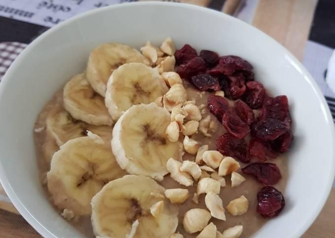 Porridge banane