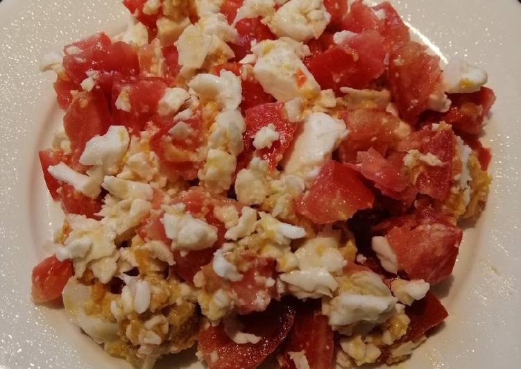 Top 10 Dinner Ideas Love Egg with Tomato