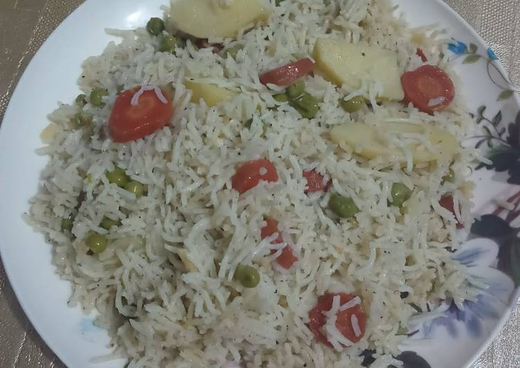 Simple Way to Prepare Top-Rated Vegetable Pulao