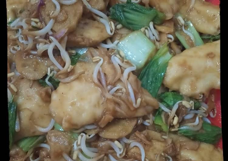 Pangsit Ayam Goreng Rasa Seafood