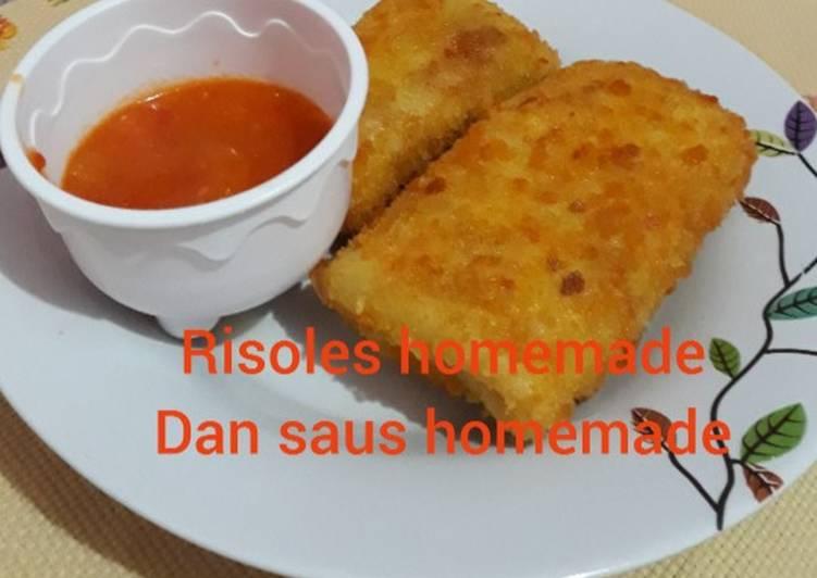 Resep Risoles Homemade Dan Saus Homemade Oleh Yeny Pebri Cookpad