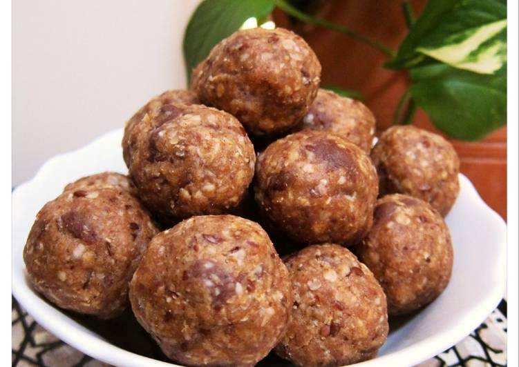 Simple Way to Prepare Speedy Protein Energy Balls