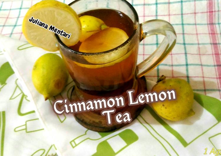 Cinnamon Lemon Tea // Minuman Segar bermanfaat