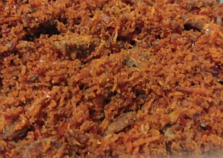 Srundeng kelapa daging - cookandrecipe.com