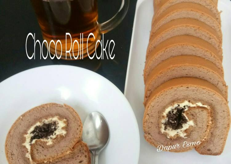 Choco Roll Cake