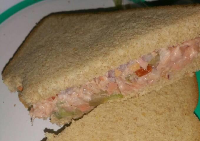 Vegetarian tuna salad