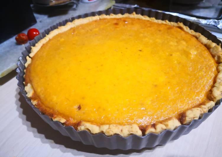 Squash Pumpkin pie